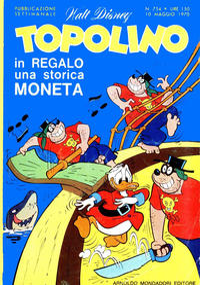 Cover Thumbnail for Topolino (Arnoldo Mondadori Editore, 1949 series) #754