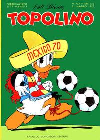 Cover Thumbnail for Topolino (Arnoldo Mondadori Editore, 1949 series) #757