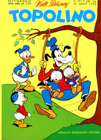 Cover Thumbnail for Topolino (Arnoldo Mondadori Editore, 1949 series) #765