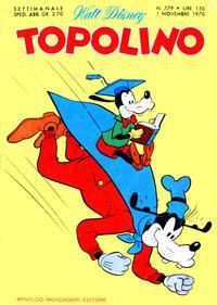 Cover Thumbnail for Topolino (Arnoldo Mondadori Editore, 1949 series) #779