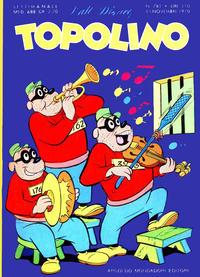 Cover Thumbnail for Topolino (Arnoldo Mondadori Editore, 1949 series) #781