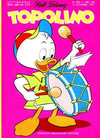Cover Thumbnail for Topolino (Arnoldo Mondadori Editore, 1949 series) #829