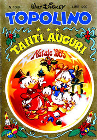 Cover Thumbnail for Topolino (Arnoldo Mondadori Editore, 1949 series) #1569