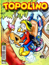 Cover for Topolino (The Walt Disney Company Italia, 1988 series) #2343