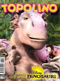 Cover Thumbnail for Topolino (The Walt Disney Company Italia, 1988 series) #2349