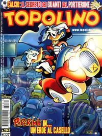Cover Thumbnail for Topolino (The Walt Disney Company Italia, 1988 series) #2841