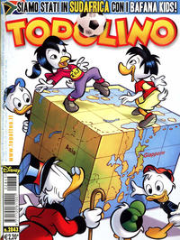 Cover Thumbnail for Topolino (The Walt Disney Company Italia, 1988 series) #2843