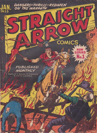 Cover Thumbnail for Straight Arrow Comics (Magazine Management, 1955 series) #1