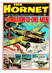 Cover Thumbnail for The Hornet (D.C. Thomson, 1963 series) #117