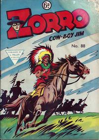 Cover Thumbnail for Zorro (L. Miller & Son, 1952 series) #88