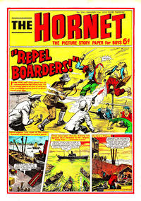 Cover Thumbnail for The Hornet (D.C. Thomson, 1963 series) #334