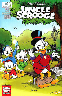 Cover Thumbnail for Uncle Scrooge (IDW, 2015 series) #6 / 410 [subscription variant]
