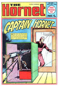 Cover Thumbnail for The Hornet (D.C. Thomson, 1963 series) #605