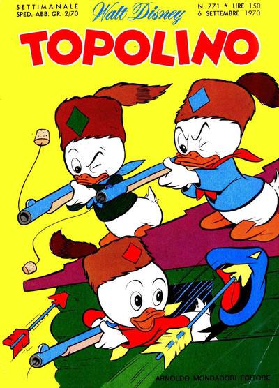 Cover for Topolino (Arnoldo Mondadori Editore, 1949 series) #771