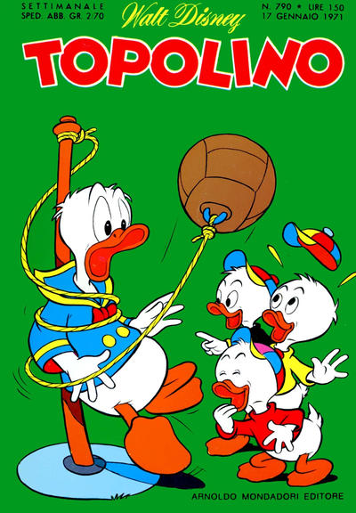 Cover for Topolino (Arnoldo Mondadori Editore, 1949 series) #790