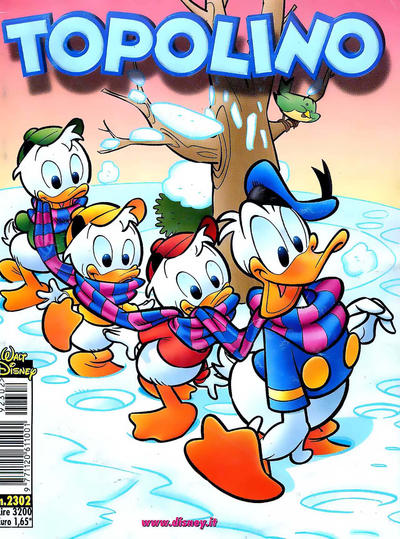 Cover for Topolino (The Walt Disney Company Italia, 1988 series) #2302