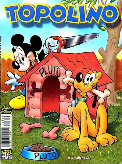 Cover for Topolino (The Walt Disney Company Italia, 1988 series) #2322