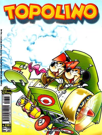 Cover for Topolino (The Walt Disney Company Italia, 1988 series) #2303