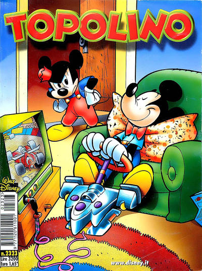 Cover for Topolino (The Walt Disney Company Italia, 1988 series) #2323