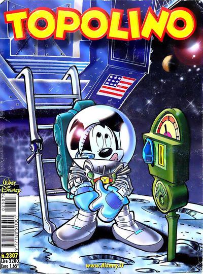 Cover for Topolino (The Walt Disney Company Italia, 1988 series) #2307