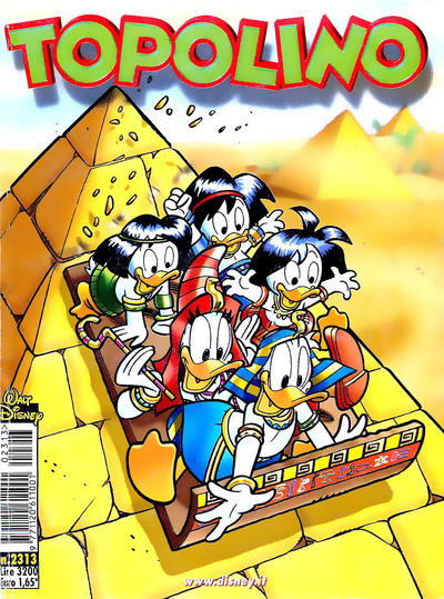 Cover for Topolino (The Walt Disney Company Italia, 1988 series) #2313