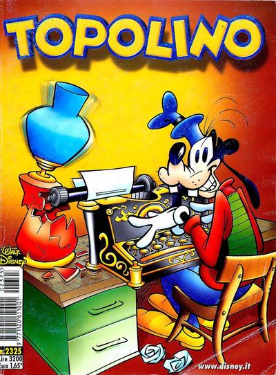 Cover for Topolino (The Walt Disney Company Italia, 1988 series) #2325