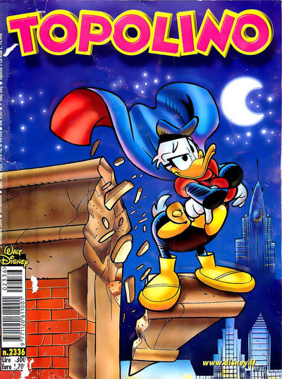 Cover for Topolino (The Walt Disney Company Italia, 1988 series) #2336