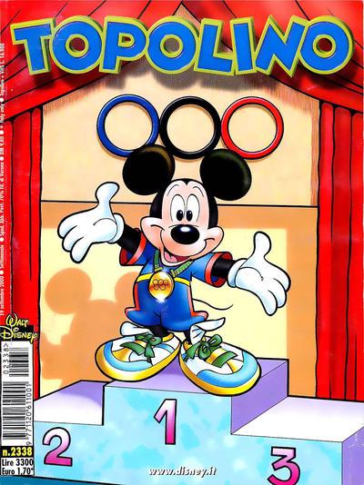 Cover for Topolino (The Walt Disney Company Italia, 1988 series) #2338