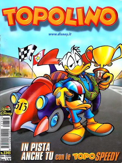 Cover for Topolino (The Walt Disney Company Italia, 1988 series) #2345