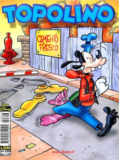 Cover for Topolino (The Walt Disney Company Italia, 1988 series) #2346