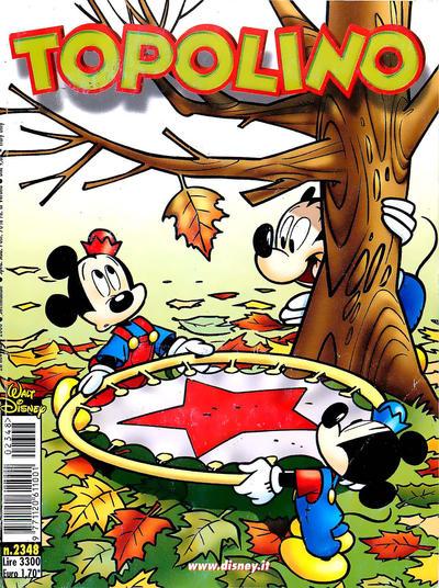Cover for Topolino (The Walt Disney Company Italia, 1988 series) #2348