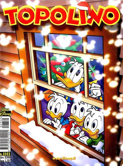 Cover for Topolino (The Walt Disney Company Italia, 1988 series) #2352