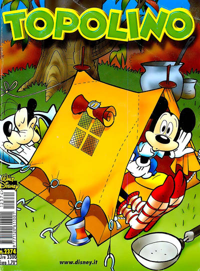 Cover for Topolino (The Walt Disney Company Italia, 1988 series) #2374