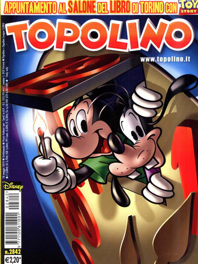 Cover for Topolino (The Walt Disney Company Italia, 1988 series) #2842