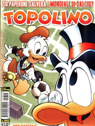 Cover for Topolino (The Walt Disney Company Italia, 1988 series) #2845
