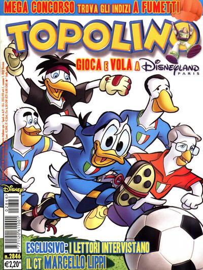Cover for Topolino (The Walt Disney Company Italia, 1988 series) #2846