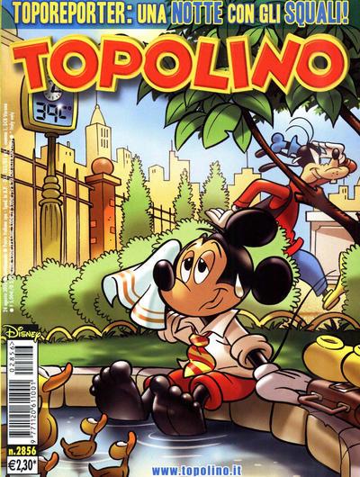 Cover for Topolino (The Walt Disney Company Italia, 1988 series) #2856