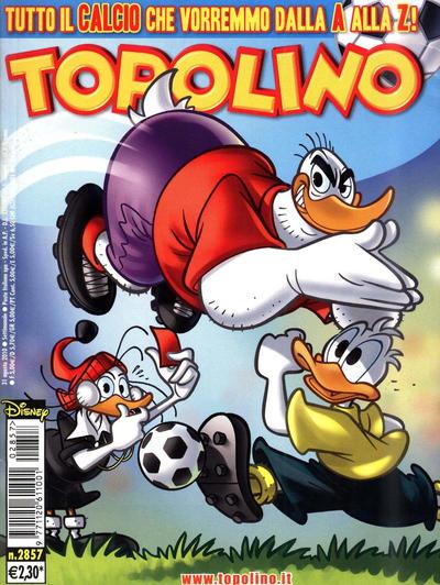 Cover for Topolino (The Walt Disney Company Italia, 1988 series) #2857