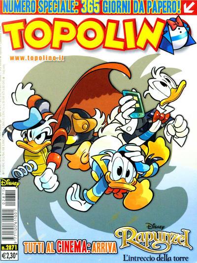 Cover for Topolino (The Walt Disney Company Italia, 1988 series) #2871