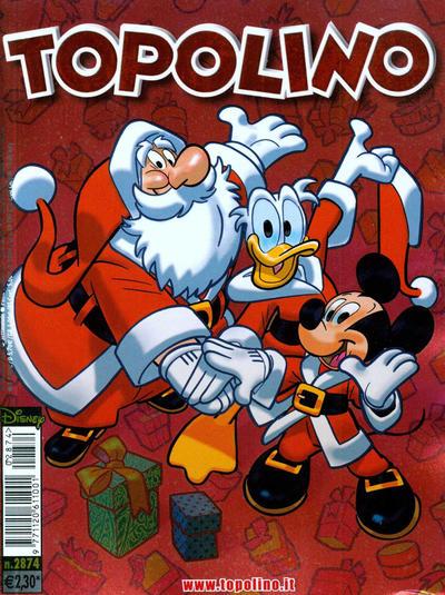 Cover for Topolino (The Walt Disney Company Italia, 1988 series) #2874