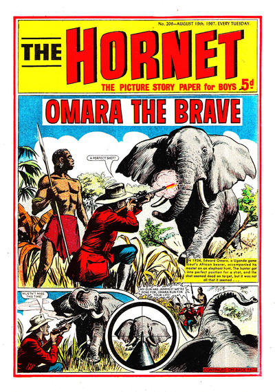 Cover for The Hornet (D.C. Thomson, 1963 series) #206