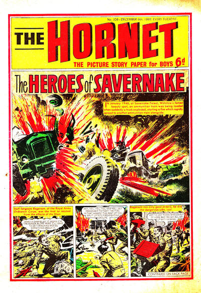 Cover for The Hornet (D.C. Thomson, 1963 series) #326