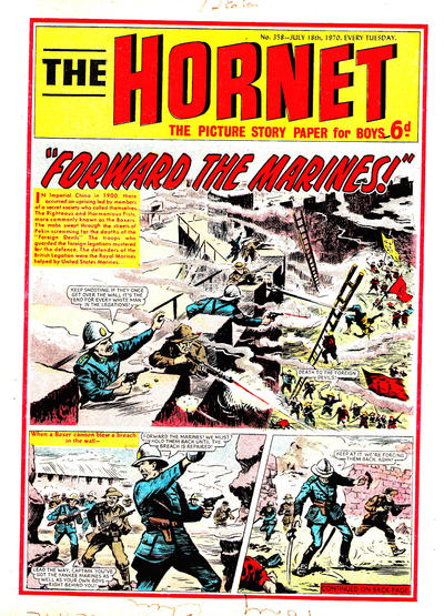 Cover for The Hornet (D.C. Thomson, 1963 series) #358