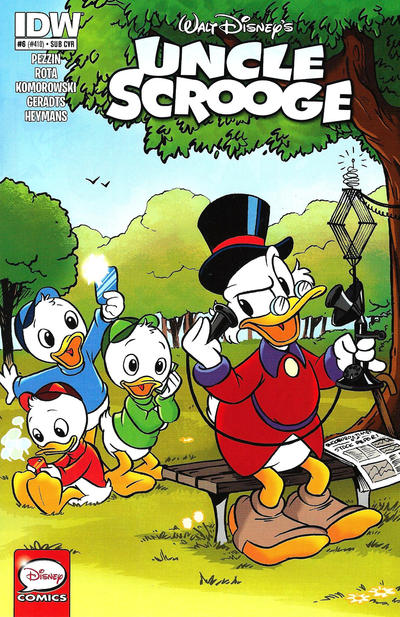 Cover for Uncle Scrooge (IDW, 2015 series) #6 / 410 [subscription variant]