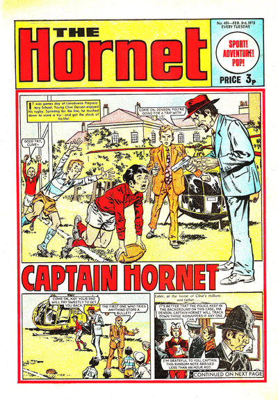 Cover for The Hornet (D.C. Thomson, 1963 series) #491