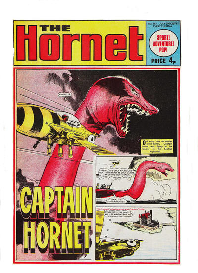 Cover for The Hornet (D.C. Thomson, 1963 series) #567