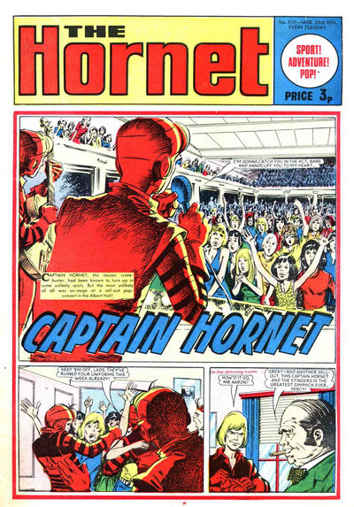 Cover for The Hornet (D.C. Thomson, 1963 series) #550