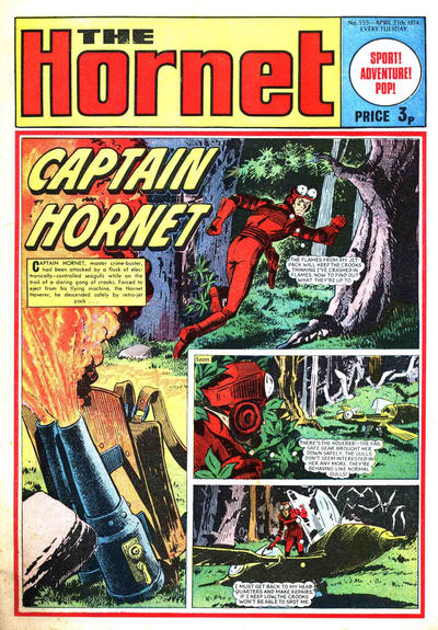 Cover for The Hornet (D.C. Thomson, 1963 series) #555