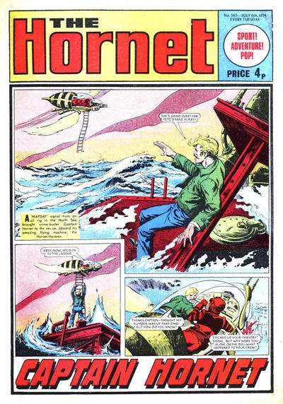 Cover for The Hornet (D.C. Thomson, 1963 series) #565