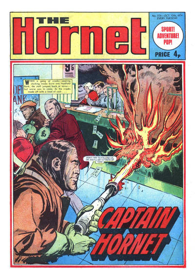 Cover for The Hornet (D.C. Thomson, 1963 series) #579